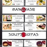 Sashimi - Mariwase - Soups